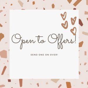 Send over an offer!